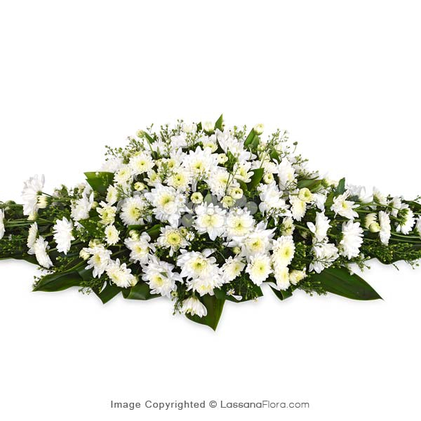CLASSIC CASKET SPRAY - Sympathy - in Sri Lanka
