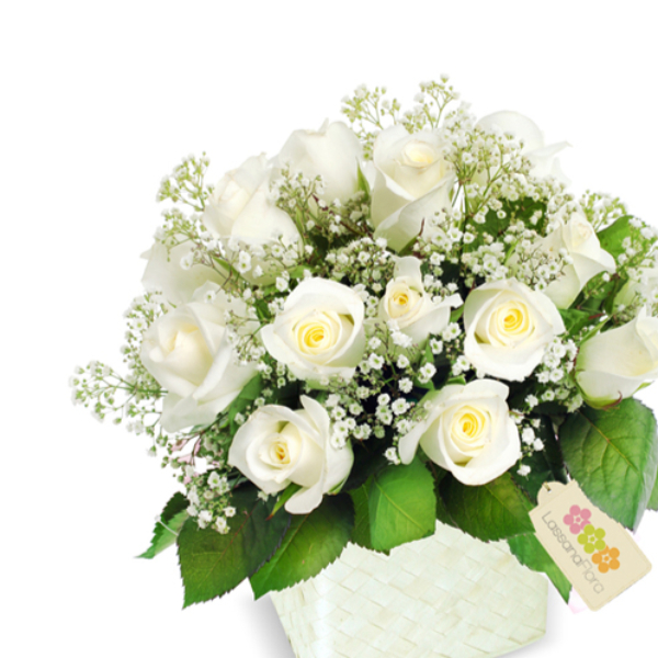 HEARTFELT WHITE ROSES - Love & Romance - in Sri Lanka