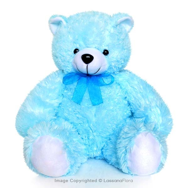 "BLUE TEDDY BEAR - 12"" - Soft Toys - in Sri Lanka"