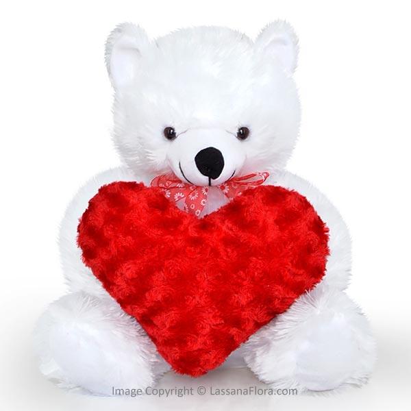 LOVE BEAR WHITE - Soft Toys - in Sri Lanka