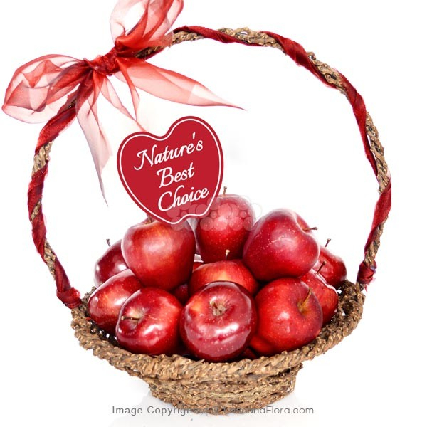 Apple Lovers Hamper Basket - Fruit Basket & Healthy Hampers - in Sri Lanka