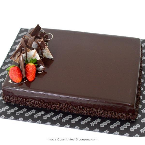 RICH CHOCOLATE CHIP CAKE 1.8 Kg (3.9 lbs) - Lassana Cakes - in Sri Lanka