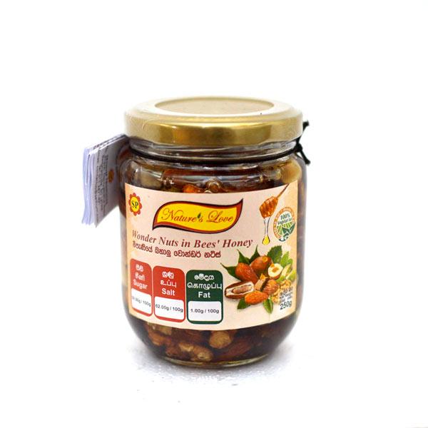 WONDER NUTS IN BEES HONEY - 250g - Grocery - in Sri Lanka