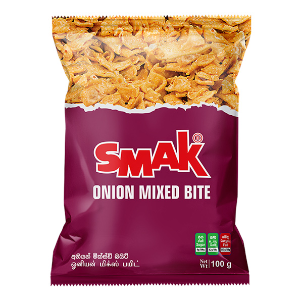 SMAK ONION MIXED BITE - 100G - Snacks & Confectionery - in Sri Lanka