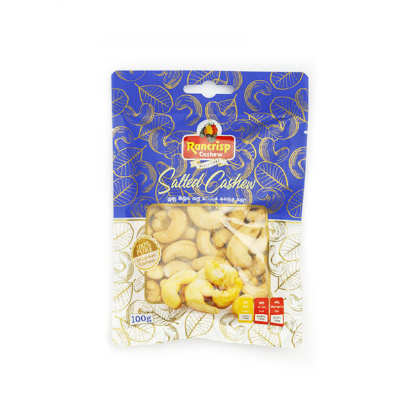 Salted Cashew Nuts 100g - Snacks & Confectionery - in Sri Lanka