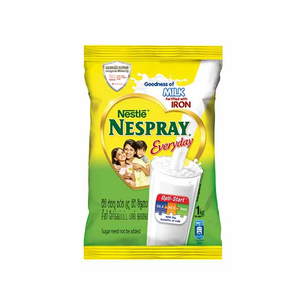 NESPRAY EVERYDAY MILK POWDER 1KG - Beverages - in Sri Lanka