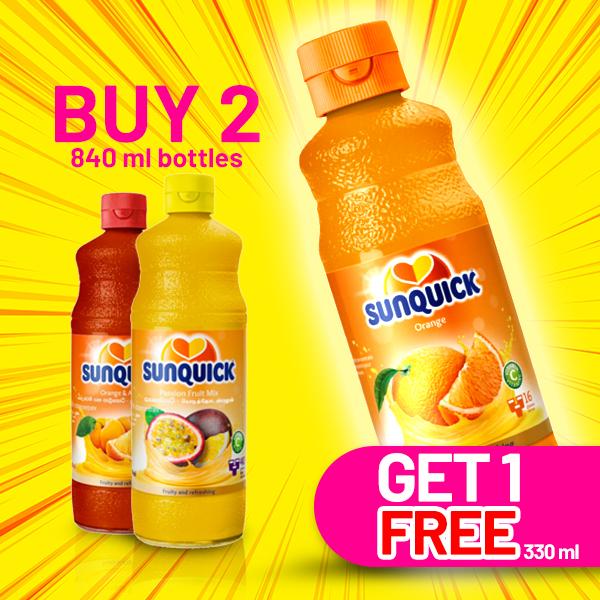 SUNQUICK PASSION FRUIT 840ML - Beverages - in Sri Lanka
