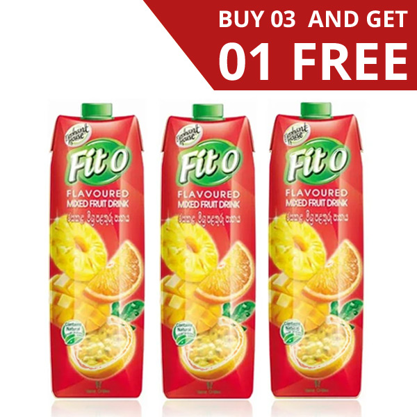 FITO MIXED FRUIT FLAVOURED FRUIT DRINK - 3 IN 1 PACK (1L EACH) - Beverages - in Sri Lanka