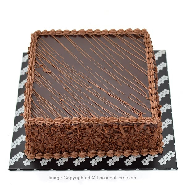 DARK HEAVEN FUDGE CAKE 500g (1.1 lbs) - Lassana Cakes - in Sri Lanka