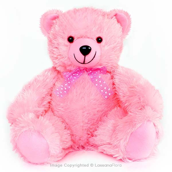 "PINK TEDDY BEAR - 12"" - Soft Toys - in Sri Lanka"
