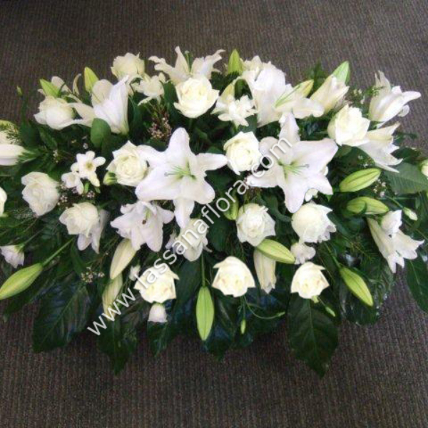 COFFIN WREATH (1 FEET) - Sympathy - in Sri Lanka