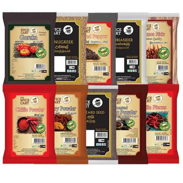 ESSENTIAL SPICE PACK - REGULAR - Essentials Packs - in Sri Lanka
