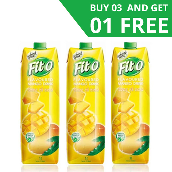 FITO MANGO FLAVOURED FRUIT DRINK - 3 IN 1 PACK (1L EACH) - Beverages - in Sri Lanka