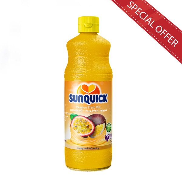 SUNQUICK PASSION FRUIT 840ML - Beverages - in Sri Lanka