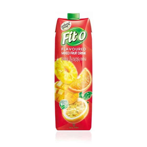 ELEPHANT HOUSE FITO FLAVOURED MIXED FRUIT DRINK - 1L - Beverages - in Sri Lanka