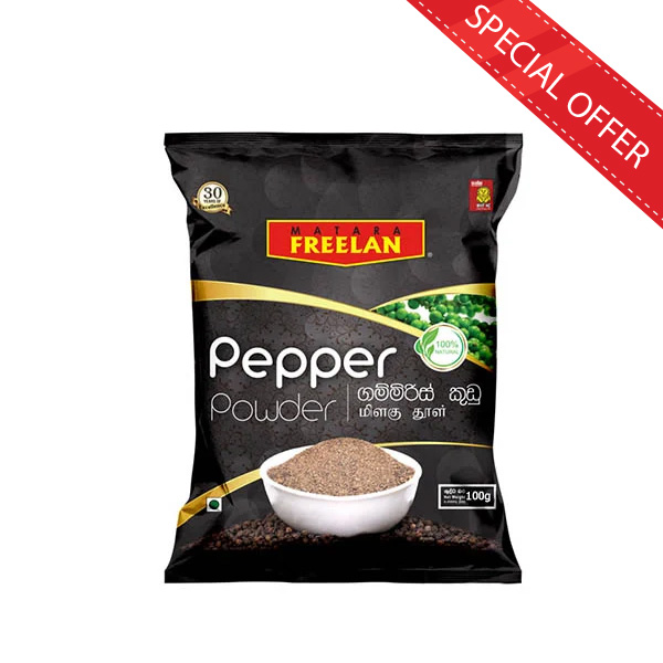 PEPPER POWDER 100G - Grocery - in Sri Lanka