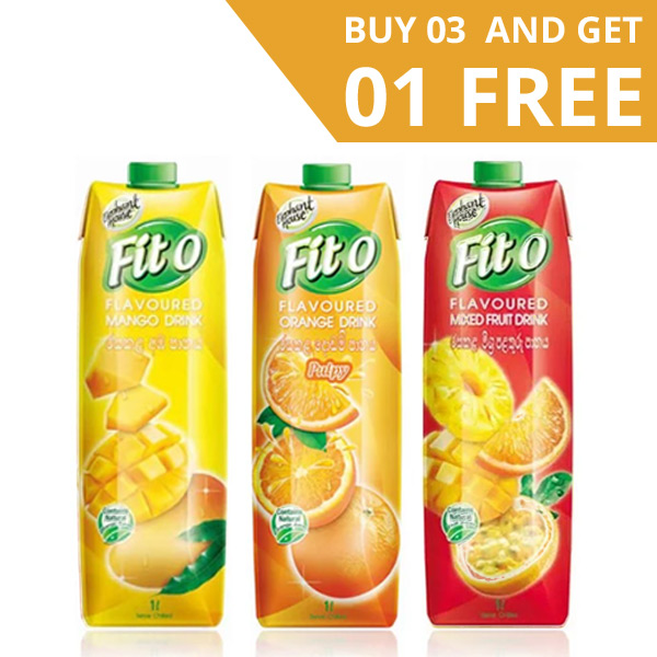 FITO FLAVOURED FRUIT DRINKS - 3 IN 1 PACK (1L EACH) - Beverages - in Sri Lanka