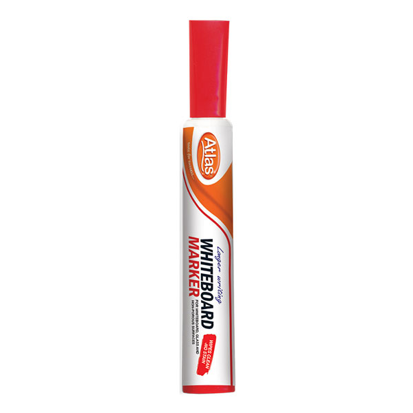 Atlas Whiteboard Marker Red - Stationery - in Sri Lanka
