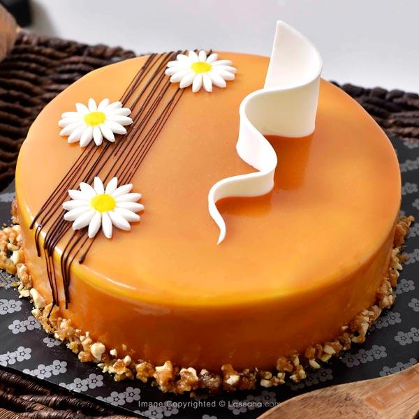 CARAMEL DELIGHT CAKE  - 1Kg(2.2 lbs) - Lassana Cakes - in Sri Lanka