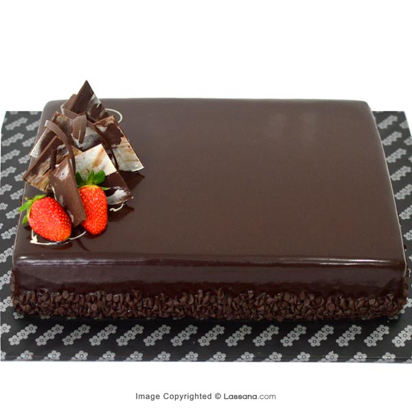 RICH CHOCOLATE CHIP CAKE 1.8 Kg (3.9 lbs) - Lassana Cakes - in Sri Lanka