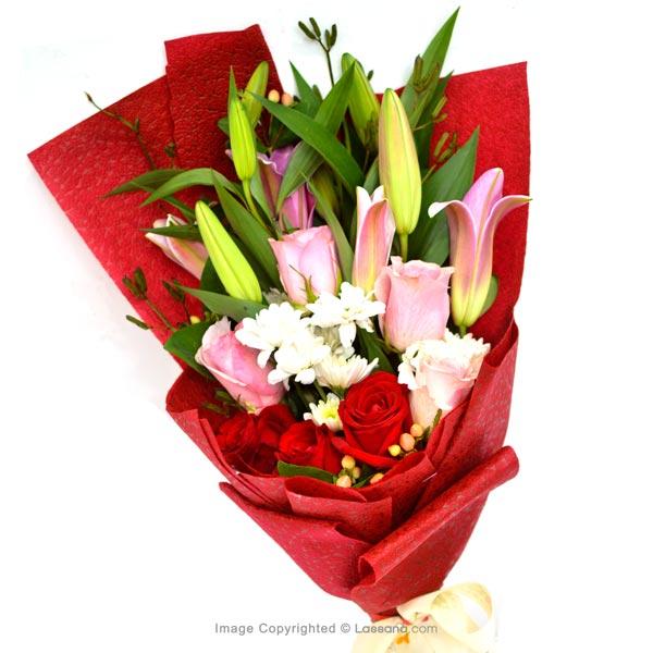 STYLISH SPRING - RED & PINK ROSES - Birthday - in Sri Lanka
