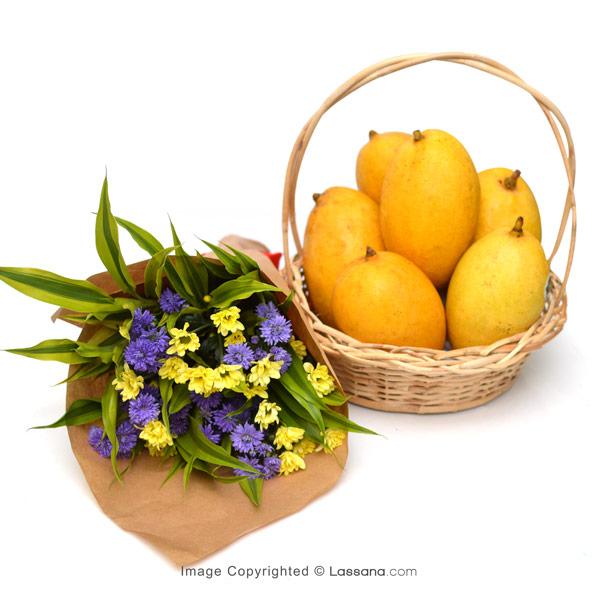 MANGO LOVER BASKET - Fruit Basket & Healthy Hampers - in Sri Lanka