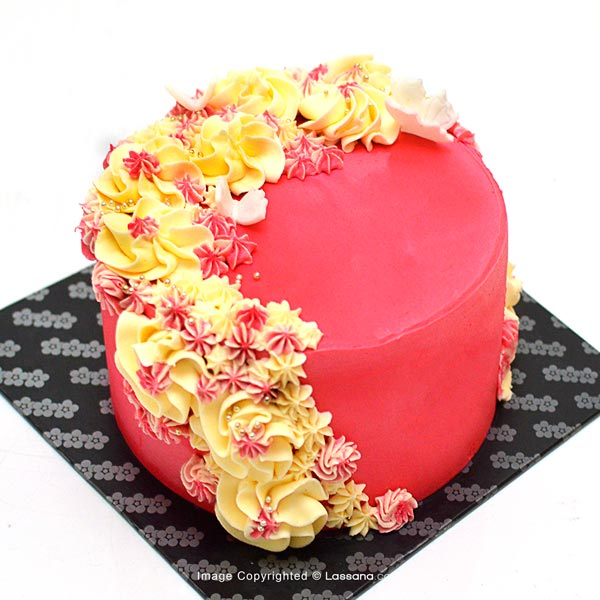 THE FLOWERY SURPRISE  - 1.3Kg(2.2lbs) - Lassana Cakes - in Sri Lanka
