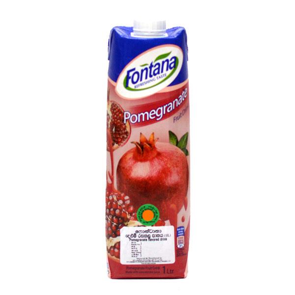 FONTANA POMEGRANATE JUICE (1LT) - Beverages - in Sri Lanka