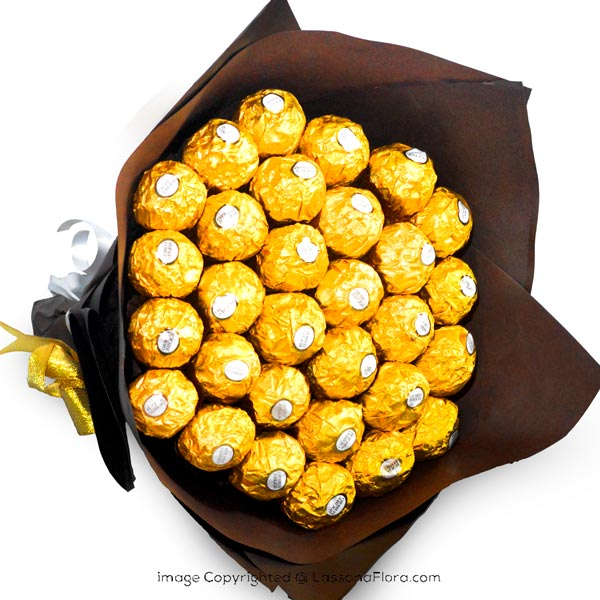 FAIRY FERRERO BUNCH-CHOCALATE ARRANGEMENT - Gift Packs - in Sri Lanka