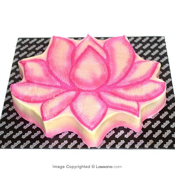 BLOOMED LOTUS CAKE-2.2kg(4.8lbs) - Lassana Cakes - in Sri Lanka