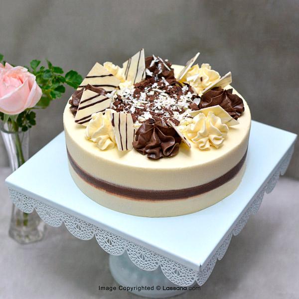 DOUBLE CHOCOLATE MARBLE CAKE – 1.4kg(3 lbs) - Lassana Cakes - in Sri Lanka