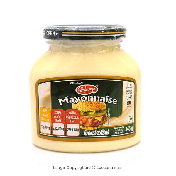 EDINBOROUGH MAYONNAISE - 345g - Grocery - in Sri Lanka