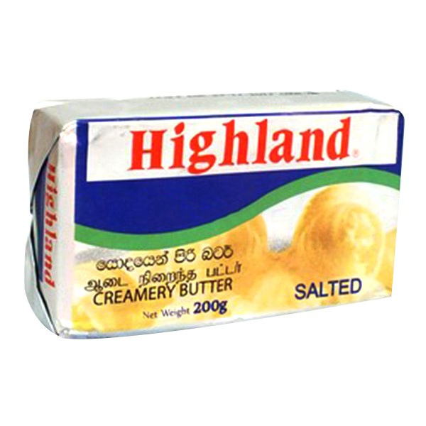 HIGHLAND BUTTER SALTED - 200g - Grocery - in Sri Lanka