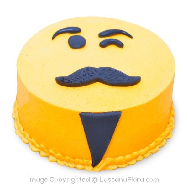 WORLD BEST MAN RIBBON CAKE - 500g (1.1 lbs) - Lassana Cakes - in Sri Lanka