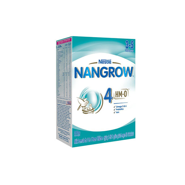 NANGROW - HMO - 4  MILK FORMULA FOR 3 TO 5 YEARS CHILDREN 350G - Baby Care - in Sri Lanka