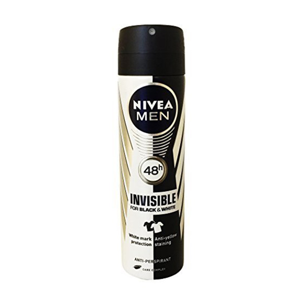 Nivea Invisible Black & White Deo Spray 150ml -Men - Personal Care - in Sri Lanka