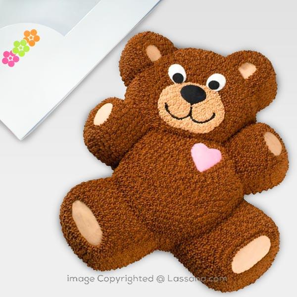 TEDDY BEAR CAKE 1.7Kg - Lassana Cakes - in Sri Lanka