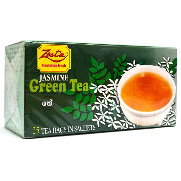 ZESTA JASMINE TEA 25 TEA BAGS - Beverages - in Sri Lanka