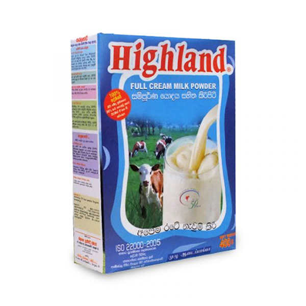 HIGHLAND MILK POWDER  (F/C) - 400g - Grocery - in Sri Lanka