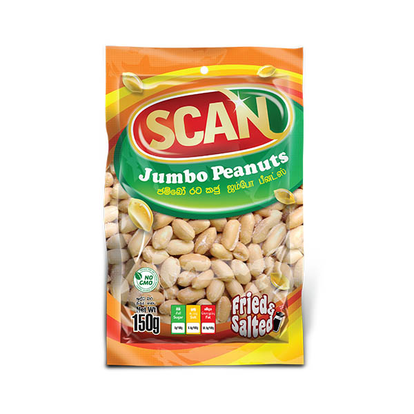 SCAN JUMBO PEANUTS 150G - Snacks & Confectionery - in Sri Lanka