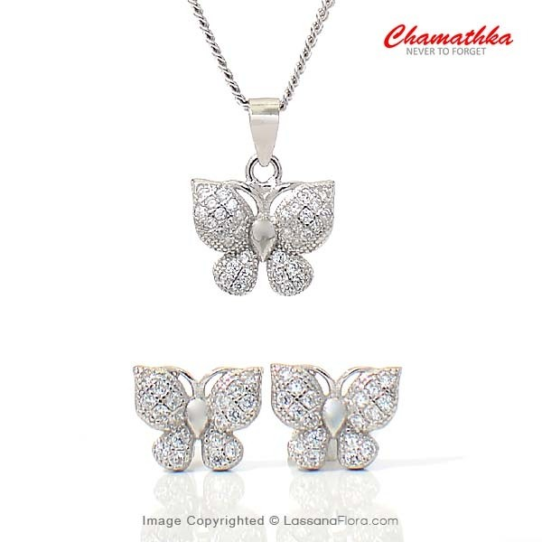 Butterfly Half Set - Women - in Sri Lanka