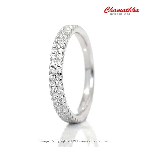 Ladies Ring - 2 Rows - Women - in Sri Lanka