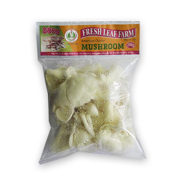 FRESH LEAF AMERICAN OYSTER MUSHROOM -200g - Vegetables & Fruits - in Sri Lanka
